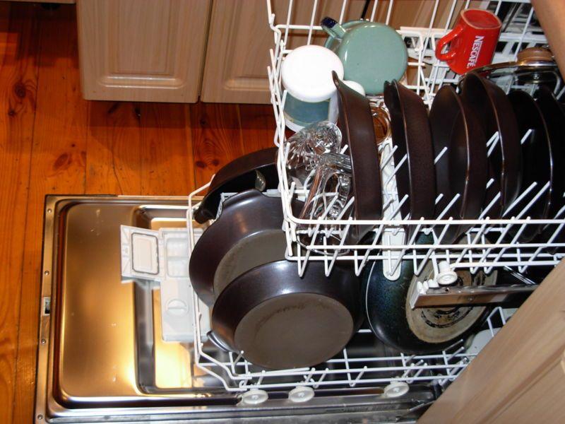 در بعضی مناطق نیازی به استفاده از جلادنده ماشین ظرفشویی نیست