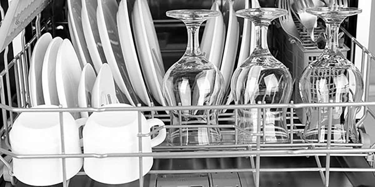 shiny dishes